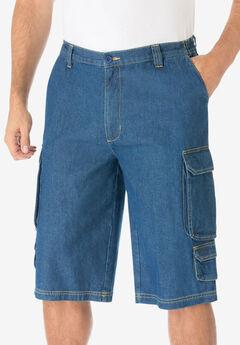 """14"""" Cargo Shorts, STONEWASH"""
