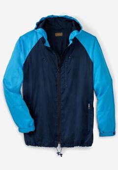 Boulder Creek® Lightweight Windbreaker Jacket,
