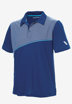 KS Sport™ Performance Polo, MIDNIGHT NAVY STRIPE