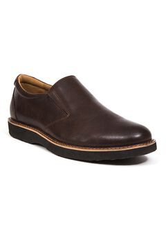 Deer Stags® Walkmaster Twin Gore Slip-On Leather Loafers with Memory Foam,
