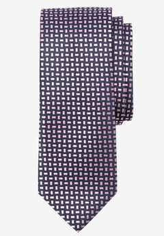 Extra Long Geometric Tie,