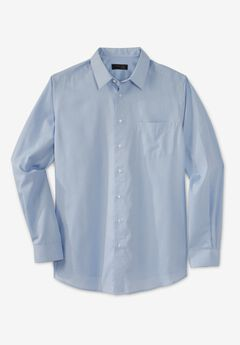 KS Signature No Hassle® Long-Sleeve Dress Shirt,