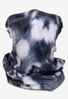 Gaiter Mask, BLACK WHITE TIE DYE