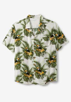 KS Island™ Tropical Camp Shirt , TOUCAN