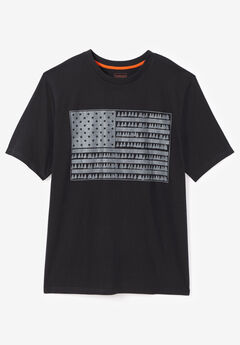 Boulder Creek® Nature Graphic Tee, FLAG
