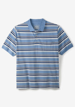 Liberty Blues® Pocket Piqué Polo Shirt,