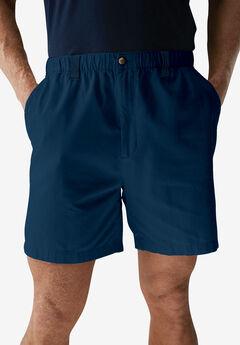 "Knockarounds® 6"" Pull-On Plain Shorts, NAVY"