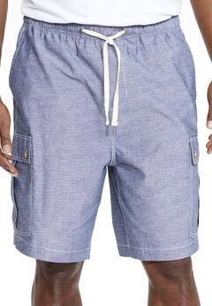 KS Island™ Chambray Cargo Shorts,