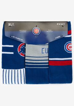 MLB 3-Pack Socks, CHICAGO CUBS
