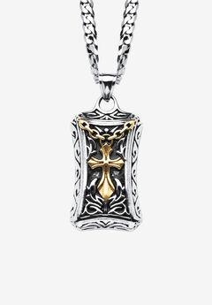 Cross Pendant Necklace,