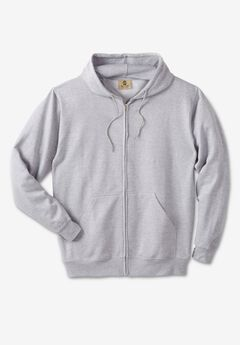 Fleece Full-Zip Hoodie,