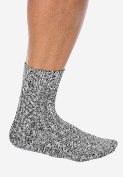 Wigwam® Ragg Cotton Socks, WHITE BLACK