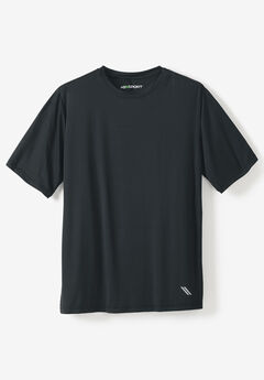 Crewneck Tee by KS Sport™, BLACK