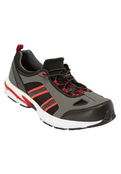 Toggle Water Shoe, GUNMETAL BLAZE RED