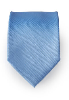 Classic Textured Tie, COOL BLUE