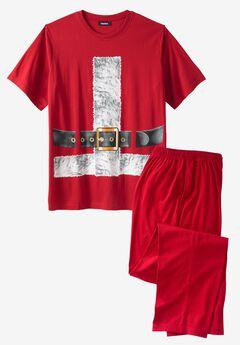 Holiday Pajama Set, SANTA SUIT