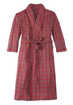 Hanes® Woven Shawl Robe,