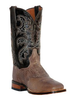 "Dan Post 11"" Two Tone Cowboy Boots,"