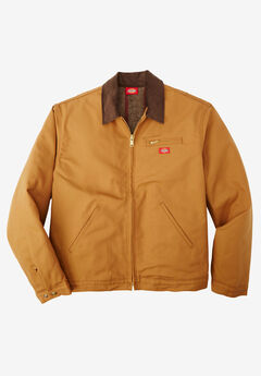 Rigid Duck Blanket Lined Jacket by Dickies®, DUCK BROWN