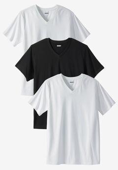 Cotton V-Neck Undershirt 3-Pack,