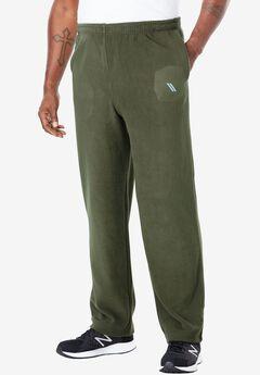 Open Bottom Fleece Tech Pants by KS Sport™,