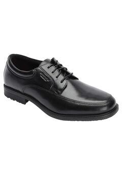 Rockport® Apron Toe Lace-up Dress Shoe, BLACK