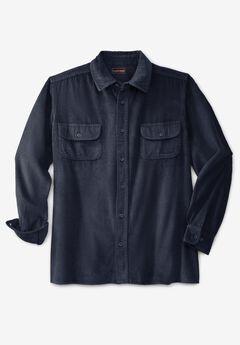 Long-Sleeve Corduroy Shirt,