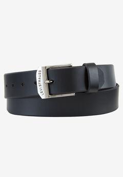 Levi's® Leather Bridle Belt, BLACK