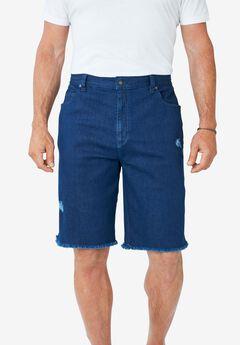 Liberty Blues® Cut-Off Denim Shorts,