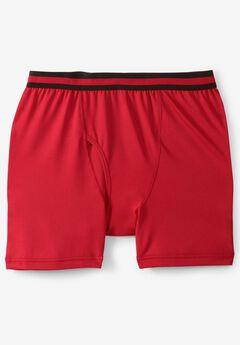 Performance Flex Boxer Briefs, TRUE RED