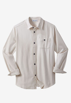 Shoreman's Chamois Shirt by Liberty Blues®, SAND STONE