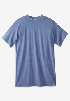 Longer-Length Short-Sleeve T-Shirt,