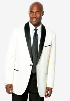 Tuxedo Jacket by KS Signature, WHITE