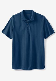 Liberty Blues® Pocket Piqué Polo Shirt, BLUE INDIGO