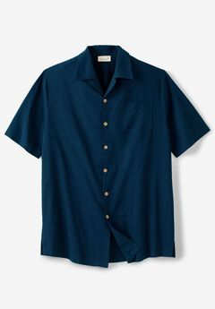 KS Island™ Woven Camp Shirt, NAVY