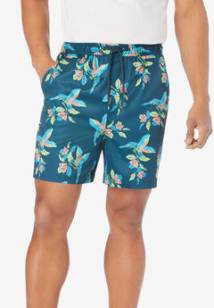 """5"""" Flex Swim Trunks with Breathable Stretch Liner by Meekos,"""