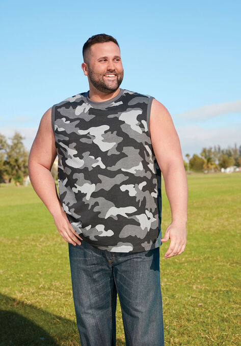 deaaffc882e81 Shrink-Less™ Lightweight Muscle Tee