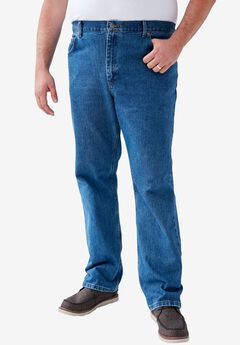 Straight Leg Regular Fit Jeans by Lee®, PEPPER STONE