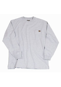 Long-Sleeve Cotton Tee with Pocket by Wrangler®,