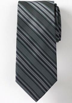 Classic Stripe Tie, GREY STRIPE