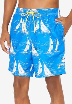 Nautica® Sailboat Swim Trunks,