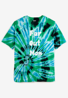 Tie-Dye Screenprint Tee, FAR OUT