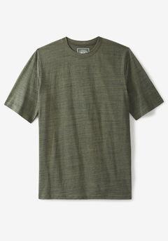 Liberty Blues® Short-Sleeve Crewneck T-Shirt, OLIVE BRUSH MARL