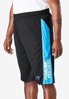 NFL® Colorblock Team Shorts, CAROLINA PANTHERS