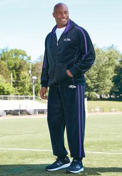 NFL® Velour Track Pants , RAVENS