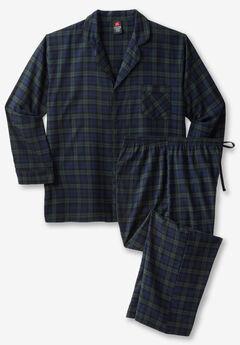 Hanes® Flannel Pajama Set,