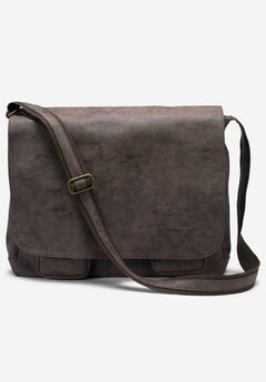 Leather Messenger Bag,