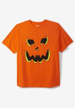 KingSize Seasonal Graphic Tee, PUMPKIN