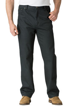 Liberty Blues® Relaxed Fit 5-Pocket Stretch Jeans, BLACK