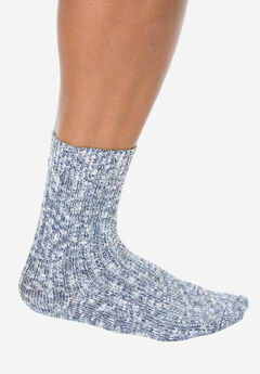 Wigwam® Ragg Cotton Socks, WHITE NAVY